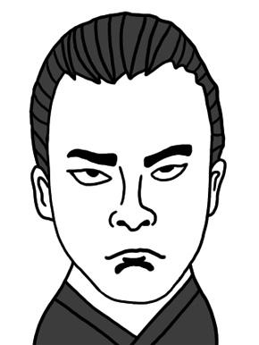 中岡慎太郎のイラスト画像