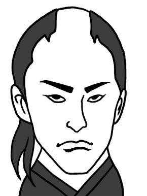 沖田総司のイラスト画像