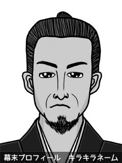 維新志士 小井 天使 (こい あんじゅ)のイラスト画像