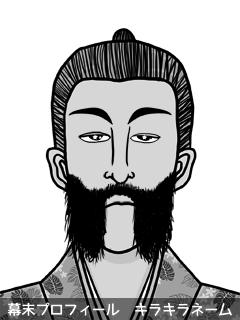 維新志士 江田 藻銑 (えだ もずく)のイラスト画像