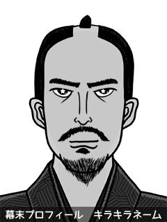 維新志士 佐久間 綺羅羅 (さくま きららら)のイラスト画像