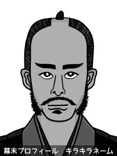 維新志士 大村 全俺物 (おおむら じゃいあん)のイラスト画像