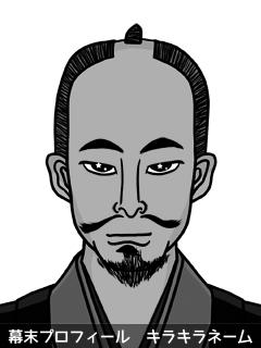 維新志士 岡田 総和 (おかだ しぐま)のイラスト画像