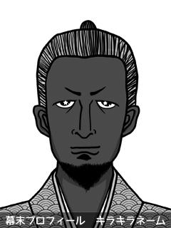 維新志士 安藤 雅桐 (あんどう がとう)のイラスト画像