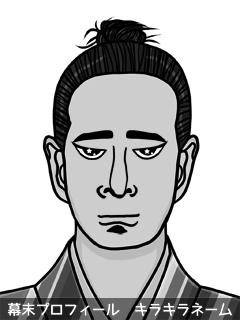 維新志士 武市 礼 (たけち ぺこ)のイラスト画像