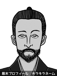維新志士 山内 戦士 (やまうち そるじゃあ)のイラスト画像