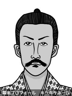 維新志士 黒木 束生夏 (くろき ばなな)のイラスト画像