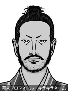 維新志士 岩井 結空祷 (いわい ゆらと)のイラスト画像