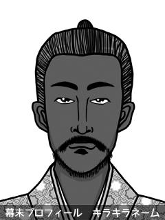 維新志士 土方 鼠帝国 (ひじかた でぃずにぃ)のイラスト画像