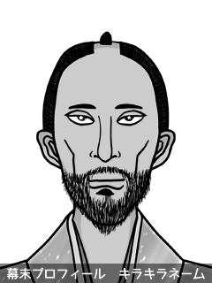 維新志士 原田 君我様 (はらだ きみがよ)のイラスト画像
