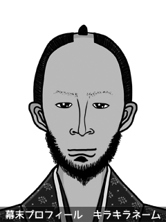 維新志士 徳平 絵夢 (とくだいら えむ)のイラスト画像