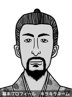 維新志士 松津 嘘 (まつづ ほら)のイラスト画像