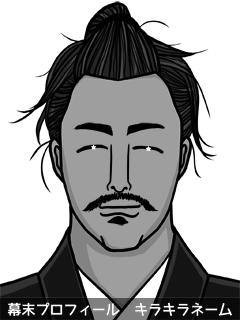 維新志士 久南 菊紅葉 (くなみ きくもみじ)のイラスト画像