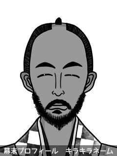 維新志士 桐野 翔海 (きりの しょう)のイラスト画像