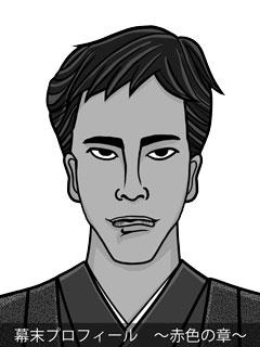 維新志士 高杉晋作のイラスト画像