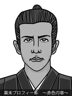 維新志士 桂小五郎のイラスト画像
