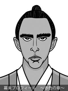 維新志士 斎藤一のイラスト画像