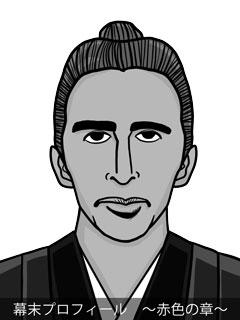 維新志士 勝海舟のイラスト画像