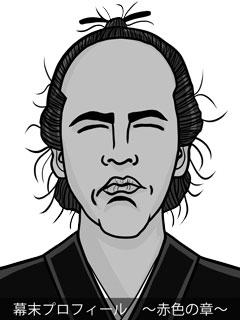 維新志士 坂本龍馬のイラスト画像