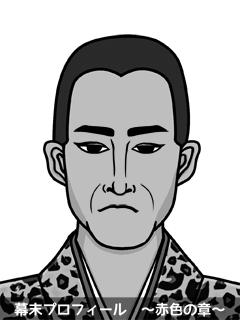 岡部藩(おかべはん)埼玉県 出身の幕末志士「域島宗三」のイラスト ...